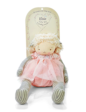 Bunnies By The Bay Elsie Plush Toy