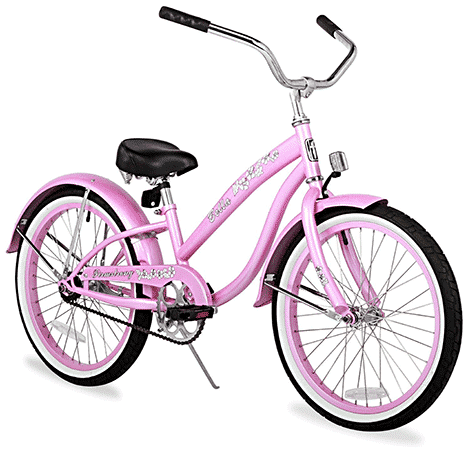 Firmstrong Girls Bella Classic Single Speed Cruiser Bicycle