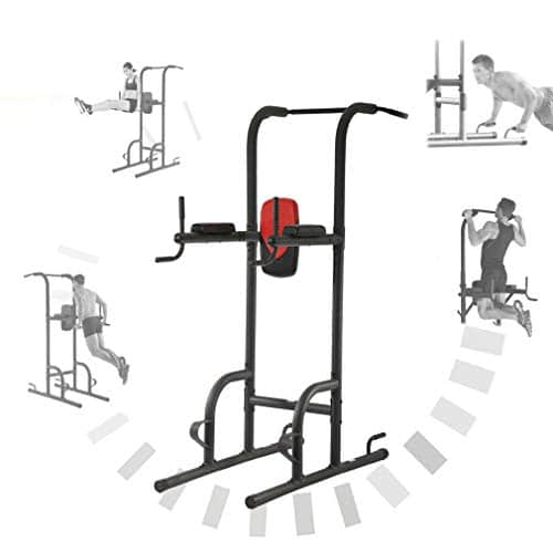 BestMassage Power Tower Exercise Equipment Durable Adjustable Multi-Function Power Tower