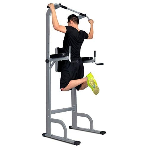 HYD-Parts Power Tower, Standing Full Body Chin-up Bar, Adjustable Dip Station