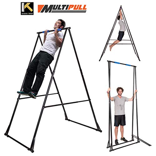 KT Mens Pull-up Bar, Abs Pull up Machine, Adjustable Pull-up Portable Stand with Sturdy Frame