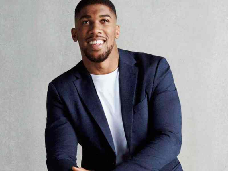 Boxing star Anthony Joshua