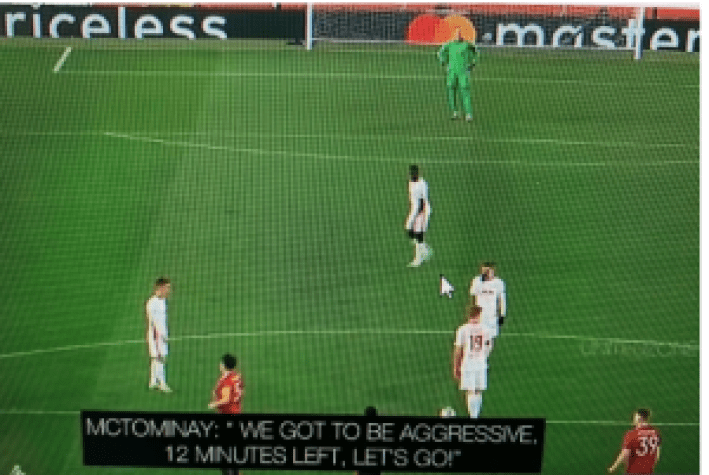 McTominay urges his teammates to be agressive