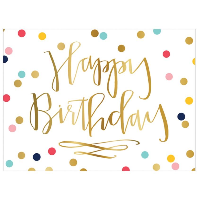 Happy Birthday Notecards Veronica Bradley Interiors