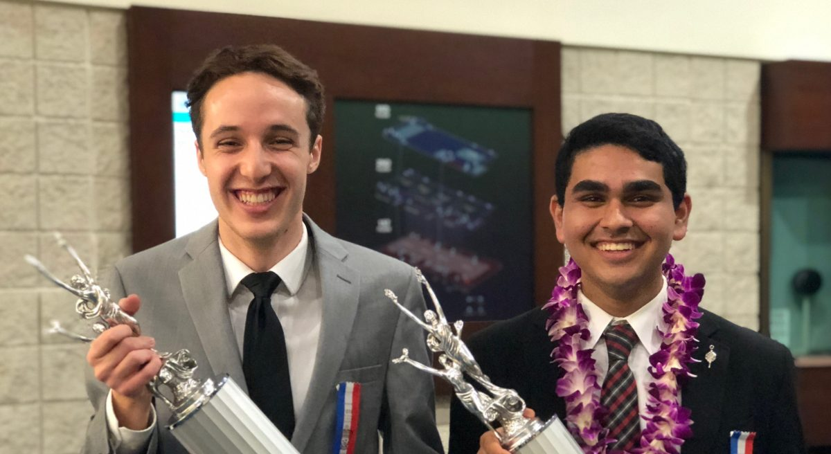 Ishan Bhatt Wins NSDA Nationals