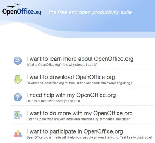 OpenOffice.org 3   is the leading open-source office software suite  for word processing, spreadsheets, presentations, graphics, databases and more. It is available in many languages  and works on all common computers. It stores all your data in an international open standard format and can also read and write files from other common office software packages. It can be downloaded and used completely free of charge for any purpose.