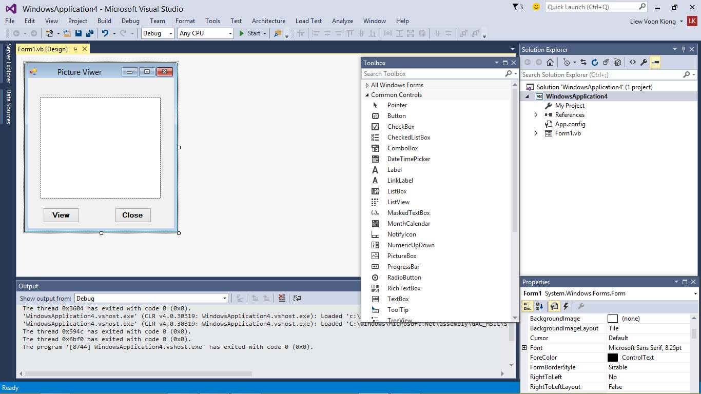 Visual Basic Lesson 3 Adding Controls To The Form