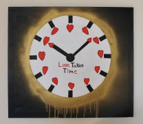 Love Takes Time -28 by 32 inches