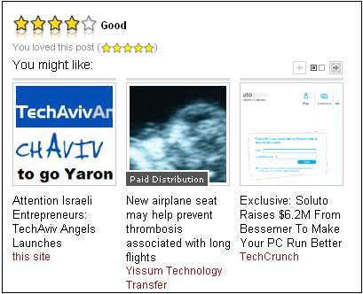 Outloud also comes in a 'visual' flavor, as showcased on VC Cafe