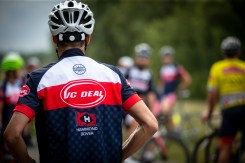 VC Deal members in their newly redesigned Le Col kit. Photo by Matt Bristow.