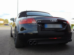 Audi TT MK2 // catback Supersprint