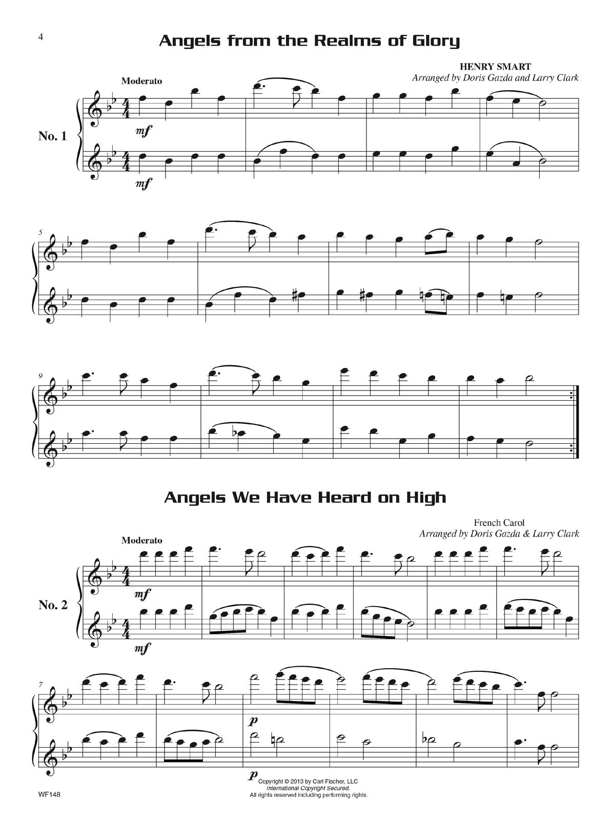 Flute Trumpet Duet Christmas Sheet Music