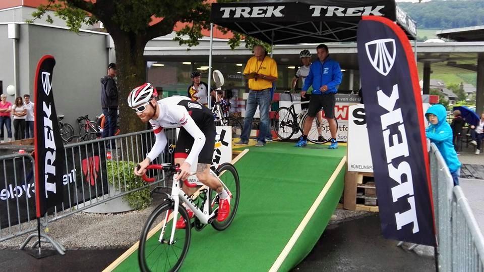 VCP Sieg am Bergzeitfahren Maisprach – Farnsburg