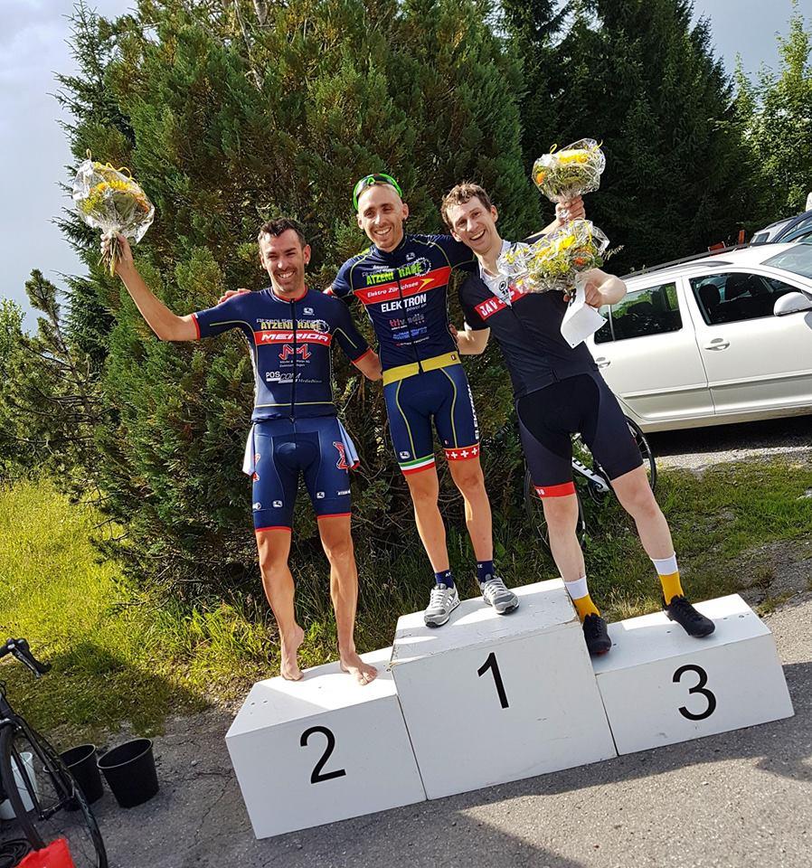 Steher-Champion Giuseppe Atzeni (2. AK, 8. overall) und sein Bruder Thomas (1. AK, 5. overall) runden die exzellente Teamleistung ab. Ein grosser Tag fürs Atzeni Race Team!