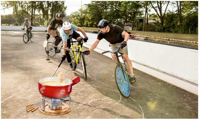 Heute Bike Polo Schnuppertraining