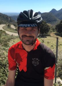 Dr. Schlienger beim Radspocht
