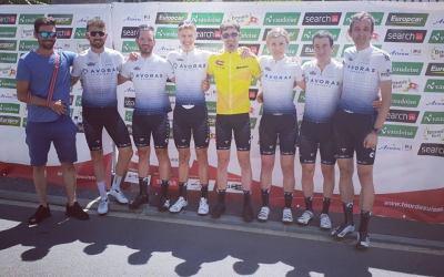 Erfolgreiche VC Peloton Fahrer an der Tour de Suisse Challenge