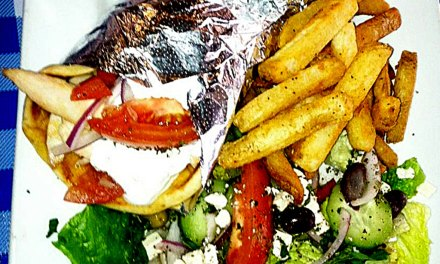 Greek grill offers up the meaning of life and lamb