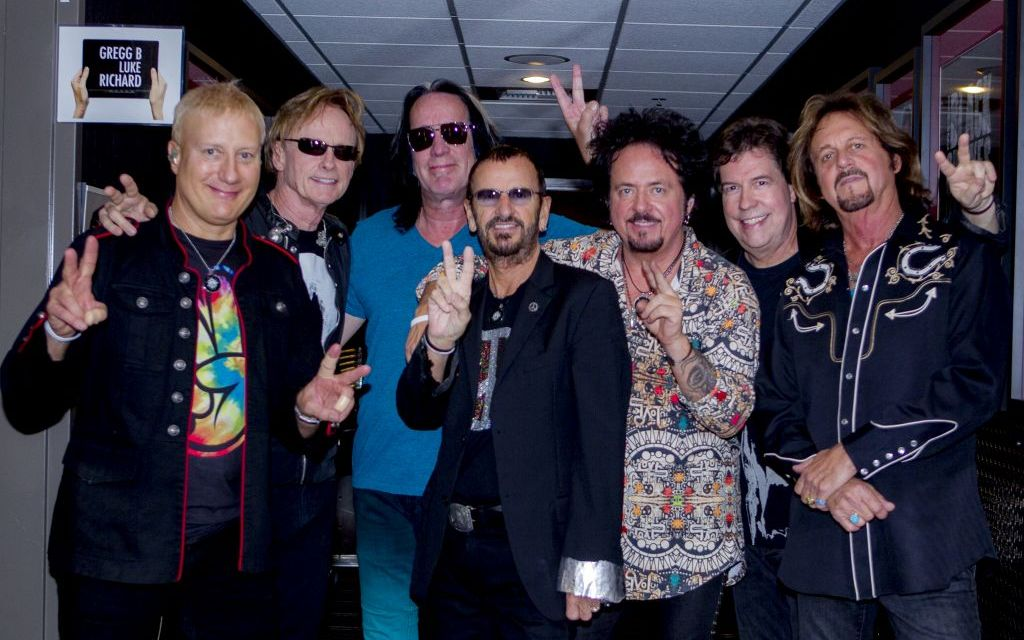 RINGO REVISITED   Former Beatle brings his All-Starrs to town