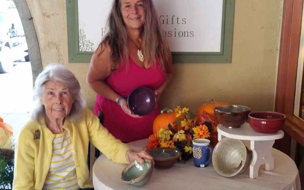 CHARITY SERVED   Bowl of Thanks dishes up beautiful art, tasty treats for a good cause at the Ventura Harbor