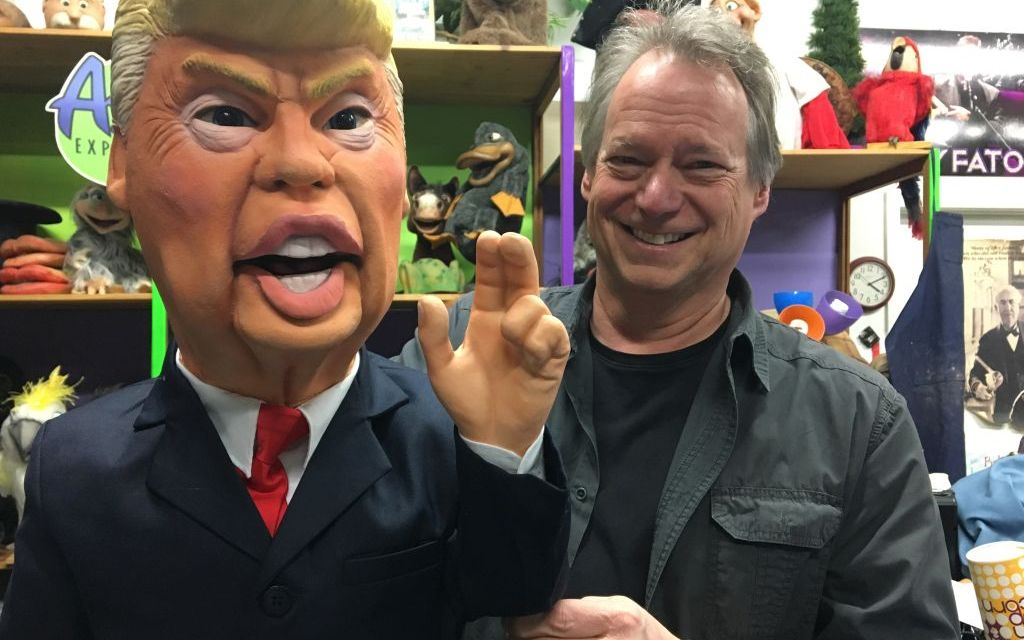 YES, PUPPET | Axtell Expressions will debut its Trump dummy and other new products at KAX4 in Oxnard