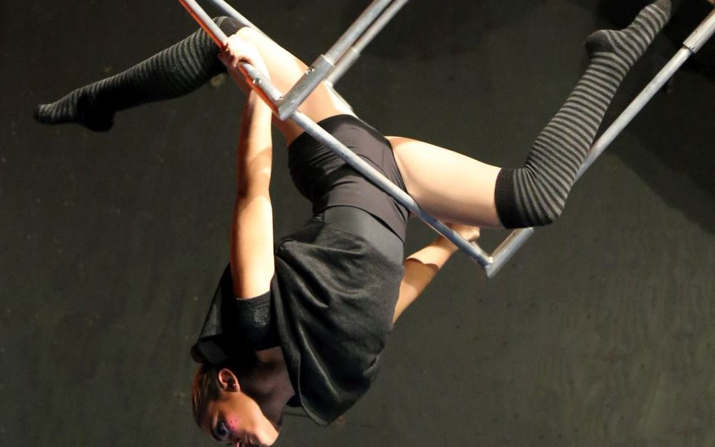 DEFYING GRAVITY   The Aerial Studio's Spring Showcase promises magic, mischief and high-flying adventure