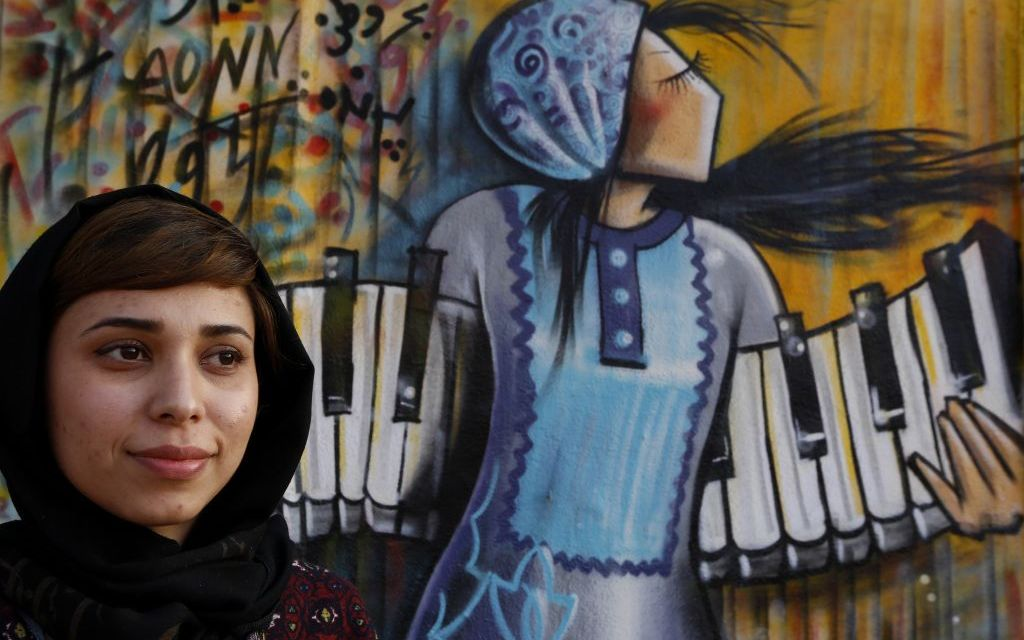 ARTWALK ARTISTS NAMED   Shamsia Hassani and Maribel Hernandez to be honored at the 2017 art festival