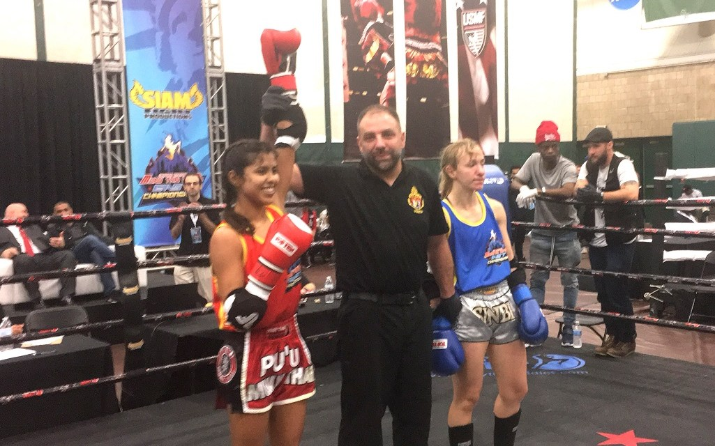 WHO'S ON FIRST?   Ventura Muay Thai competitor wins big in New York