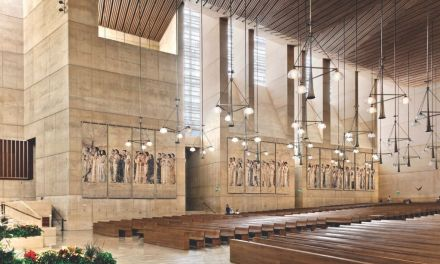 ON THE BOOKSHELF | <em>Sacred Material: The Art of the Tapestries of the Cathedral of Our Lady of the Angels</em>