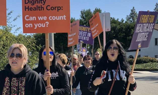 TOO BIG TO CARE?   Demonstrations around county over hospital merger