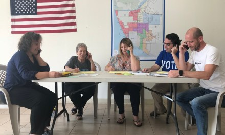 TRUE CALLING | Volunteers ramp up phone calls, texting area residents to vote