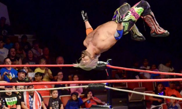 INTO THE RING | Wrestling stars throw it down in Port Hueneme at Championship Wrestling from Hollywood