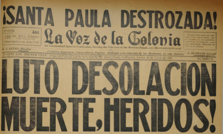 READ ALL ABOUT IT | CSUCI professor's project resurrects 1920s Spanish-language newspaper La Voz de La Colonia