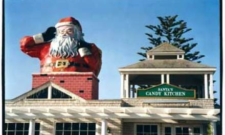 How Santa came to town