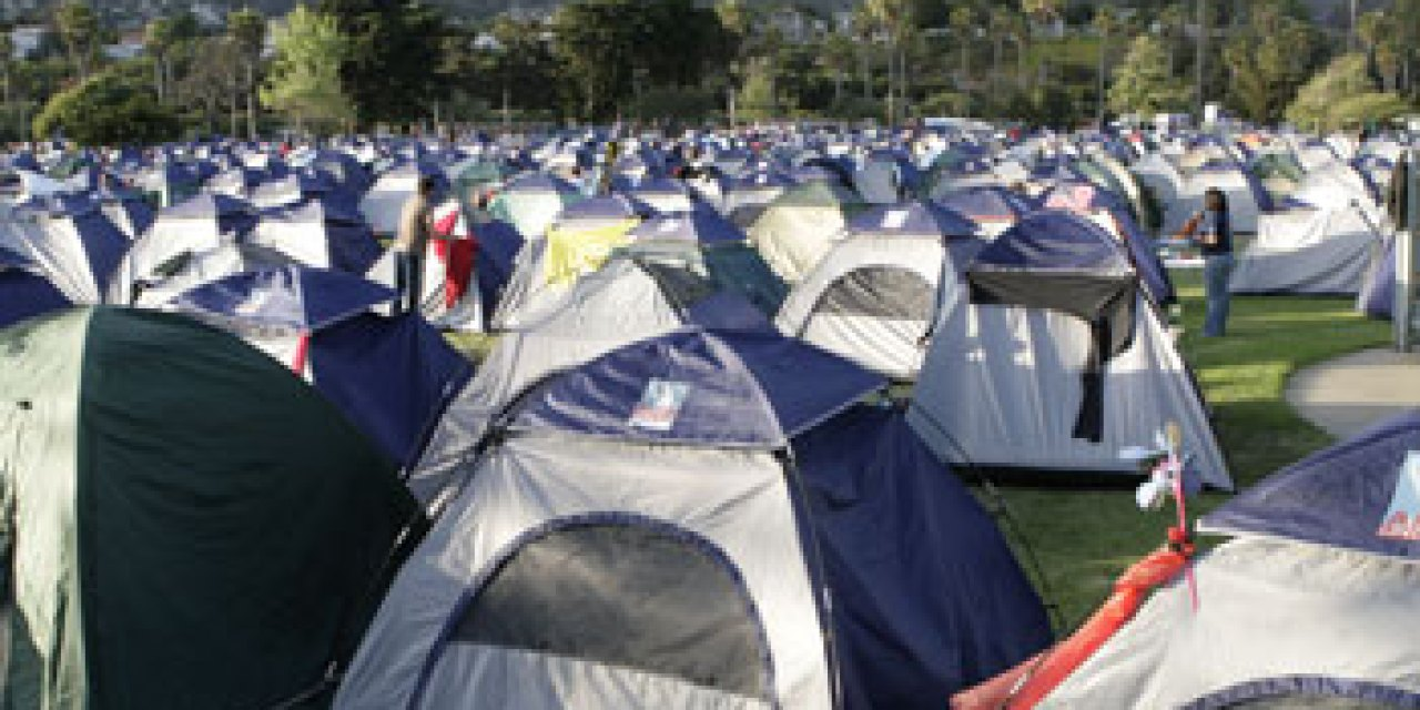 Camping for a cause