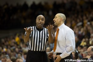 VCU and Georgetown were whistled for a total of 61 fouls in tonight's Puerto Rico Tip-Off matchup.