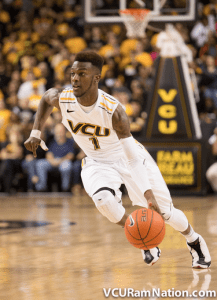 Freshman JeQuan Lewis posted a career high 13 points in VCU's OT win over EKU.