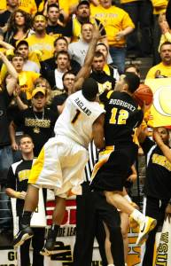 Joey Rodriguez drove the length of the floor before getting fouled and hitting two game-winning free throws in a win over Wichita State that helped VCU punch their first-ever at large bid to an NCAA tournament.