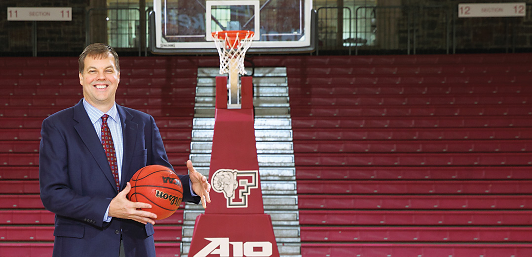 First-year Fordham coach Jeff Neubauer has the Rams off to their best start since 1970.