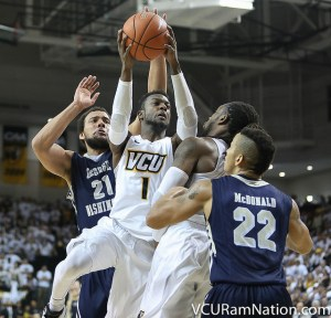 VCU will be looking to avoid the season sweep at the hands of GW on Saturday after falling to the Colonials 72-69 earlier this season.