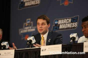 Will Wade talks to media following VCU's NCAA tournament win over Oregon State.