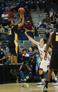 Brandon Rozzell will wear the black and gold for the first time since VCU's 2011 Final 4 run. He is the reigning MVP of Denmark's top pro league after averaging 24.5 points and 5.8 assists this past season.