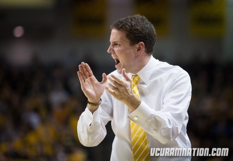 Will Wade will look to win his fourth consecutive game against Davidson since taking over as VCU head coach.