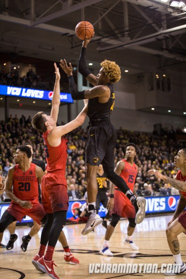 Justin Tillman is averaging 17 points and 9 rebounds in VCU's last two games. He scored 15 points in 14 minutes in a win over Richmond last season.