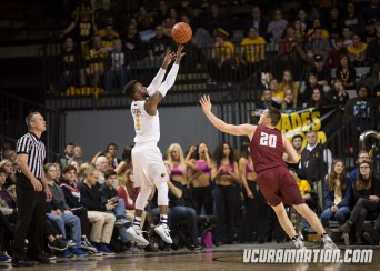 Leading scorer JeQuan Lewis hit 42.9% of his non-conference threes but is connecting on just 34.8% in A-10 play after going 1-14 in VCU's current two-game losing streak.