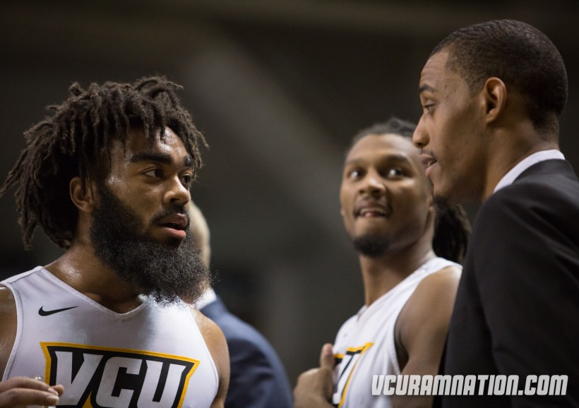 Johnny Williams led VCU with a team-high 14 points in the Rams' road loss at Rhode Island.