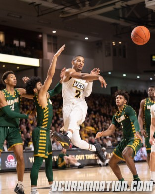 VCU defeated Mason by 16 points in the first round of this year's home-and-home.