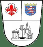 Das Wappen der Gilde: VDAPG, Land Hessen, Stadt Bad Homburg.