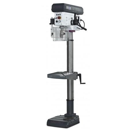perceuse a colonne avec avance de percage automatique o 28 mm optidrill dh28fs