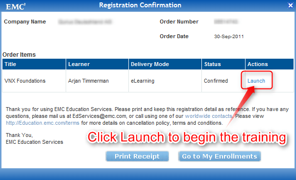 emc giving away some awesome free training